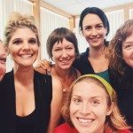 participants at Yoga Calm 2015 Summer Intensive