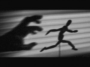 chased by a shadow