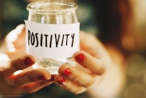 jar labeled positivity