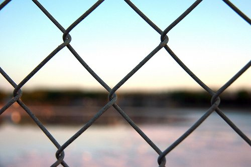 Focus Behind the Razor Wire (Yoga Calm Goes to Jail, Part 3)