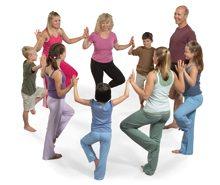 Yoga Calm Tree Circle
