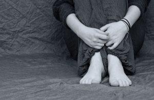 holding legs