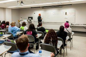high school STEM classroom